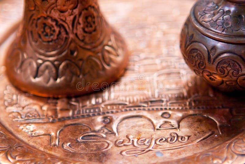 Traditionella souvenir från Sarajevo. arkivfoton