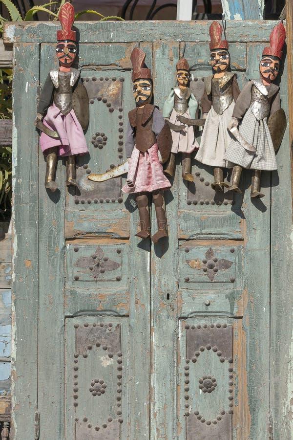 Traditionella tunisian souvenir arkivbilder