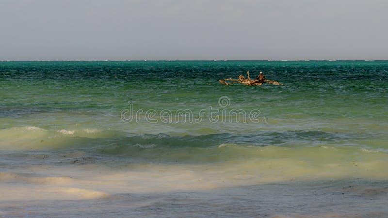 Traditionella Zanzibar fartyg Zanzibar, Februari 2019 arkivbild