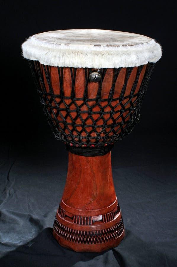 Traditionelle afrikanische Instrumente - Djembe stockfotografie
