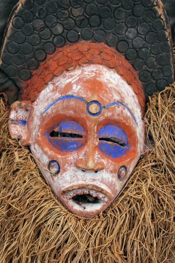 Traditionelle afrikanische Schablone stockbild