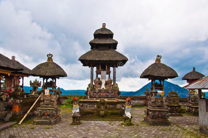 Traditionelle Architekturart Bali-Tempels lizenzfreie stockfotografie