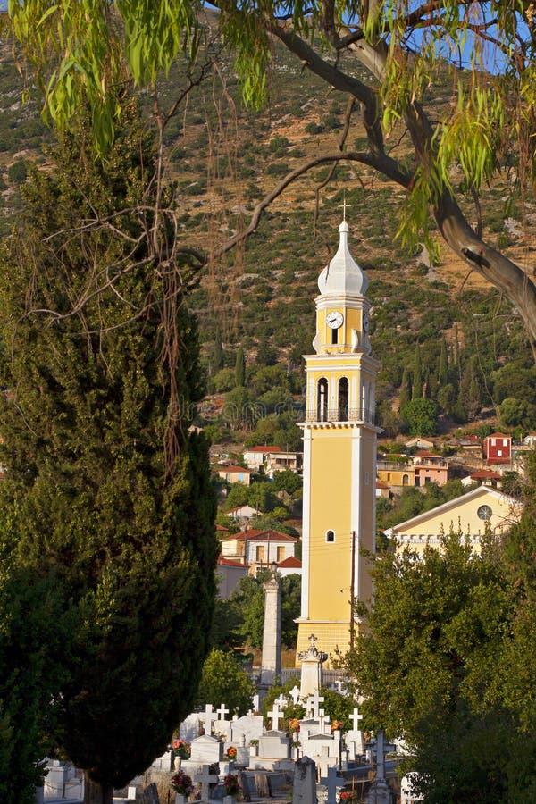 Traditionelle griechische orthodoxe Kirche stockfotografie