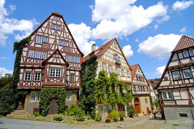 Traditionelle Häuser stockfoto