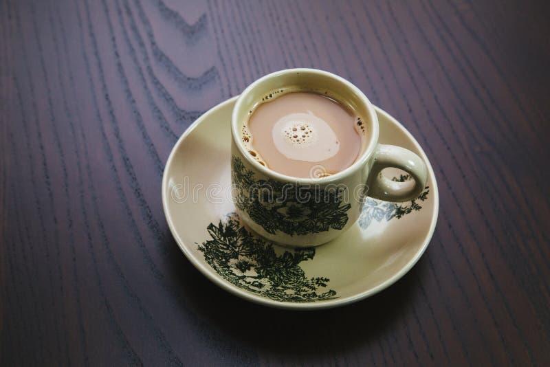 Traditionelle Hainan-Kaffeetasse lizenzfreie stockfotos