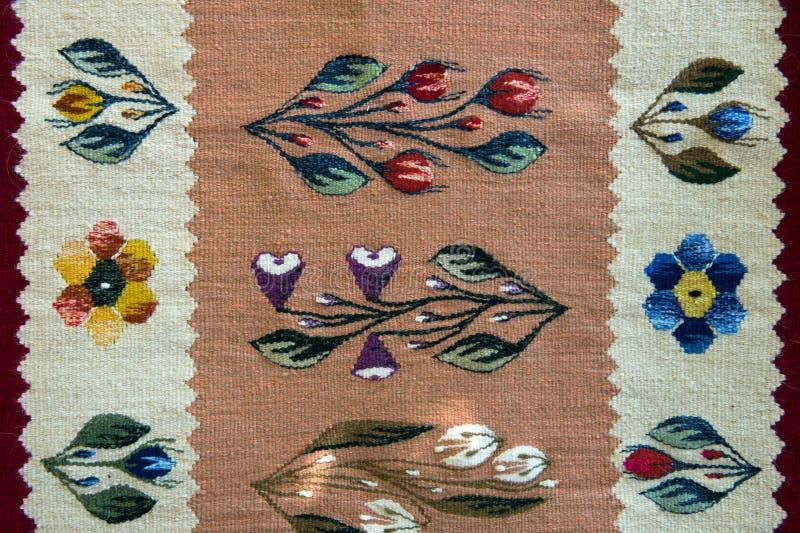 Traditionelle handgemachte rumänische Bookmarks lizenzfreies stockfoto