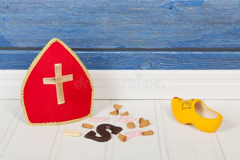 Traditionelle Holländer Sinterklaas-Feiertage stockfotos