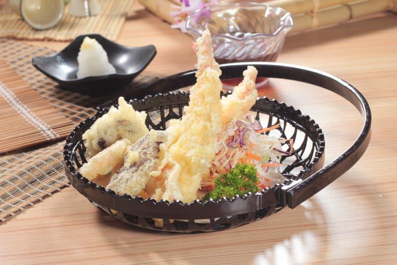Traditionelle Japan-Küche von Tempura lizenzfreie stockfotografie