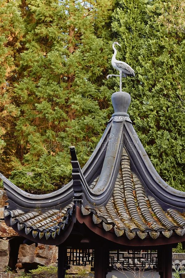 Traditionelle japanische Architektur lizenzfreie stockfotos