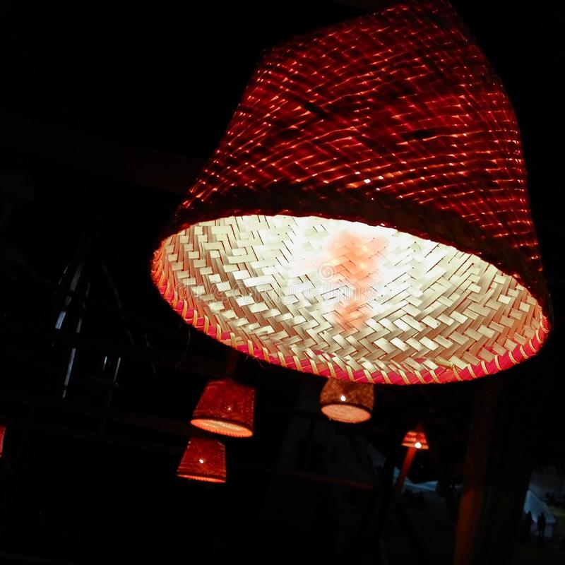 Traditionelle Lampe stockbild