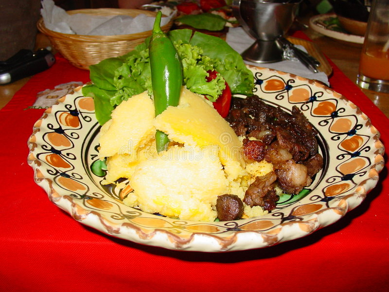 Traditionelle Nahrung lizenzfreies stockbild