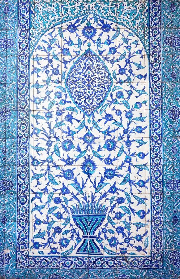 Traditionelle orientalische Fliesen/handgemachte Kunst stockfoto