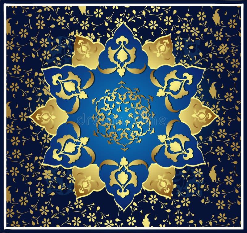 Download Traditionelle Osmanegoldauslegung Vektor Abbildung - Illustration von eleganz, element: 9075045