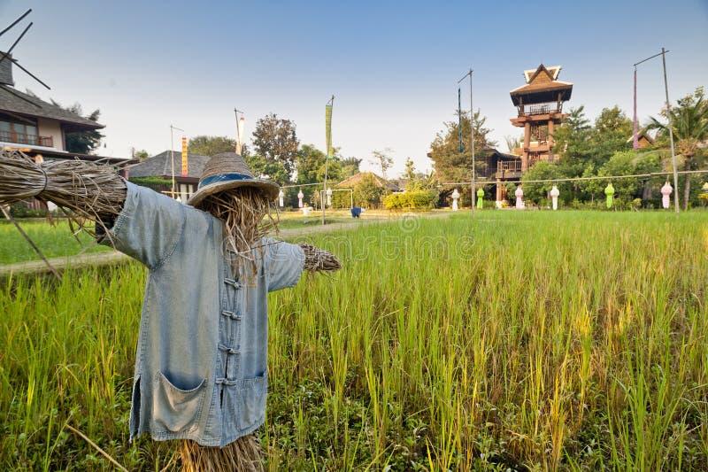 Traditionelle Schreckenskrähe in Thailand lizenzfreie stockbilder