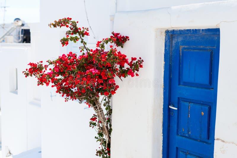 Traditionelle Straße von Mykonos-Insel in Griechenland lizenzfreie stockfotos