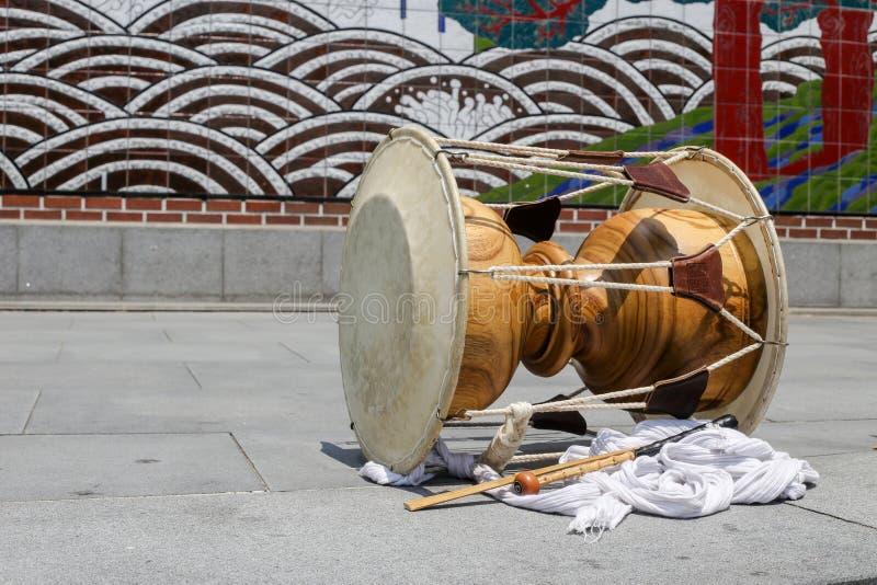 Traditionelle Trommel stockbild