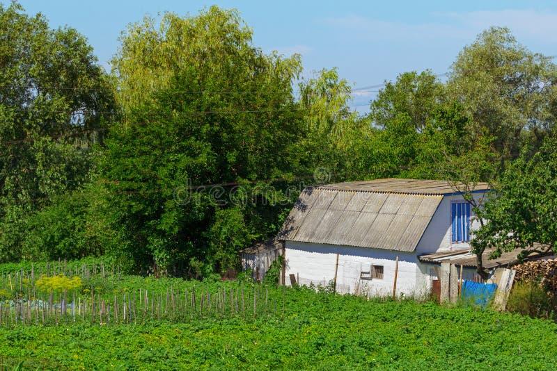 Traditionelle ukrainische Datscha lizenzfreie stockfotos