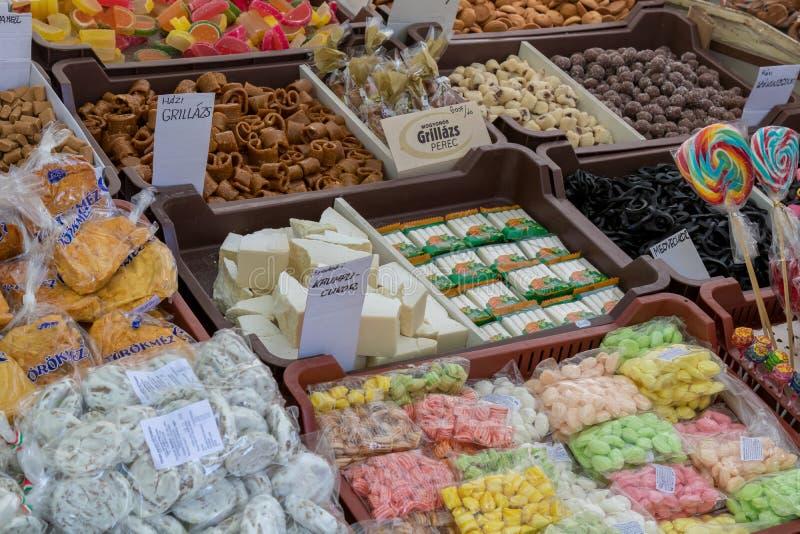 Traditionelle ungarische süße Nahrungsmittel in einem Dorf Badacsony 09 09 Ungarn 2018 stockbilder