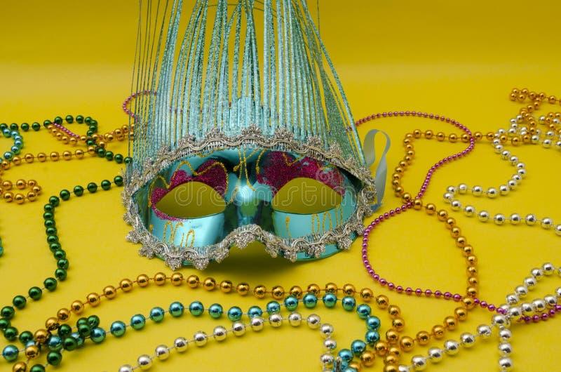 Traditionelle Venedig-Karnevalsmaske stockfoto