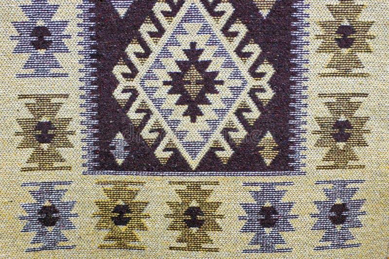 Traditionelle Wolldecke stockfotografie