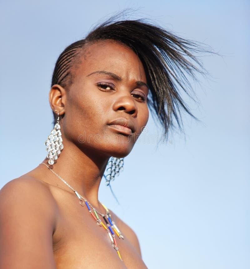 Traditioneller Afrikaner stockbilder