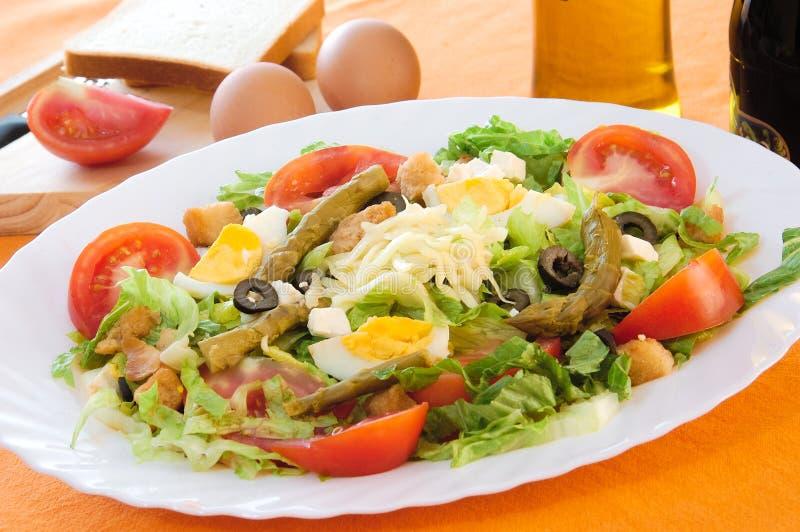 Caesar-Salat stockbilder