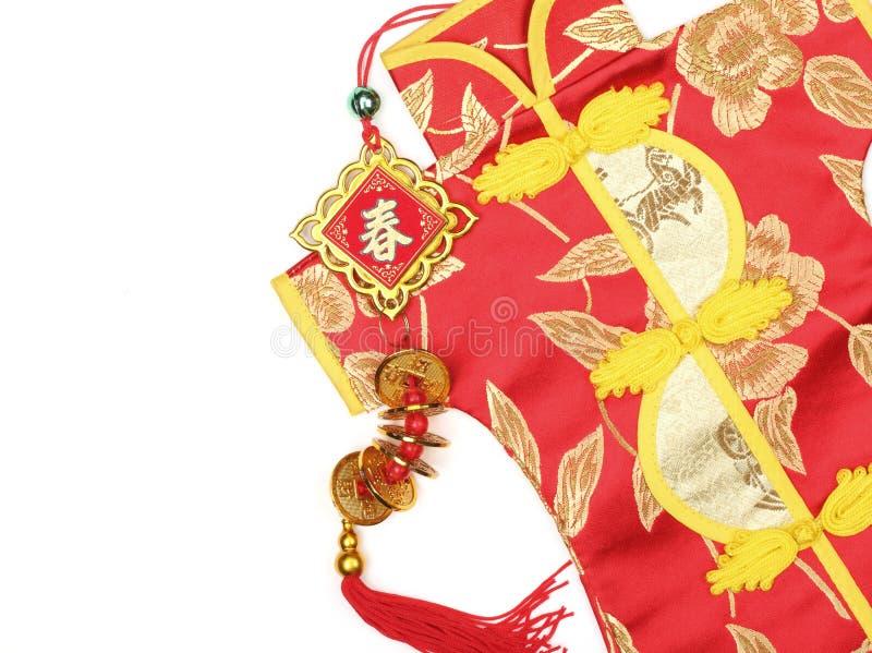 Traditioneller Chinese-Kostüm lizenzfreie stockfotos