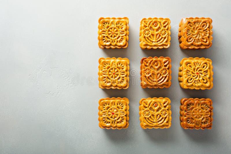 Traditioneller Chinese Mooncakes lizenzfreies stockbild