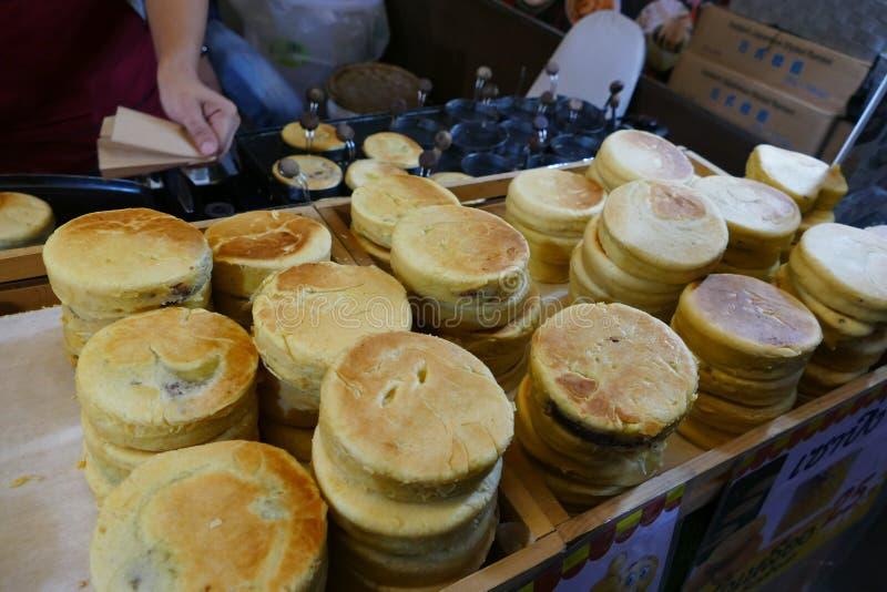 Traditioneller Chinese-Pfannkuchen stockfoto