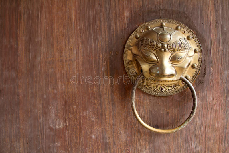 Traditioneller Chinese-Tür lizenzfreies stockfoto