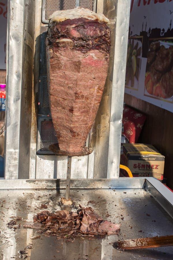 Traditioneller das Türkische Doner-Kebabgrill lizenzfreie stockbilder
