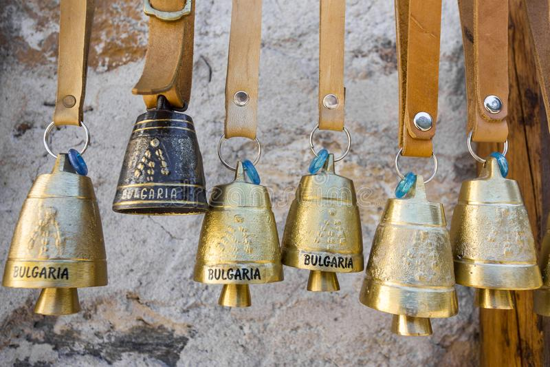 TRADITIONELLER GLOCKEN-BERG BULGARIENS lizenzfreie stockfotografie