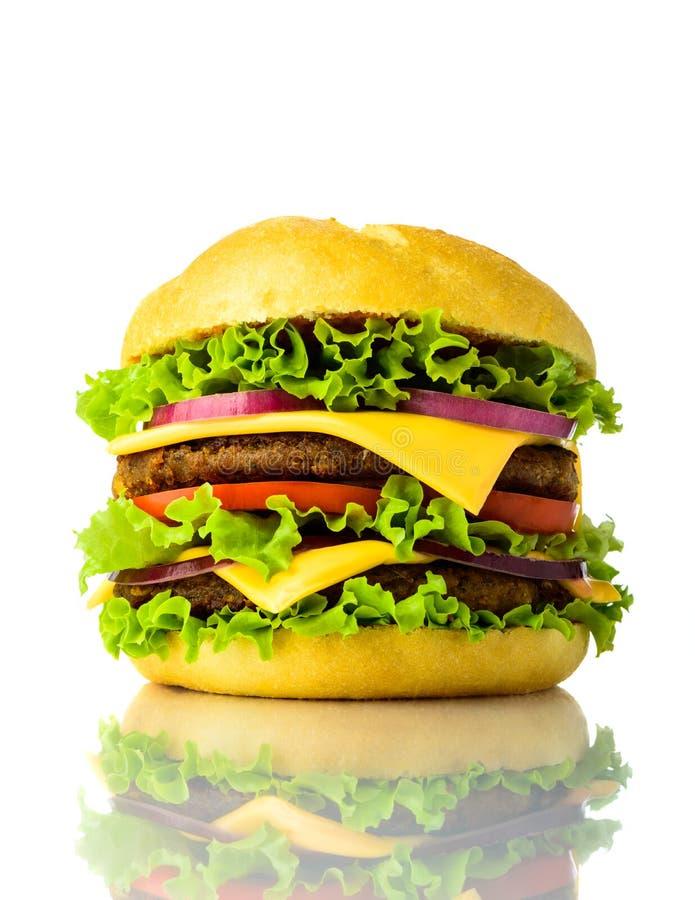 Traditioneller Hamburger stockbilder