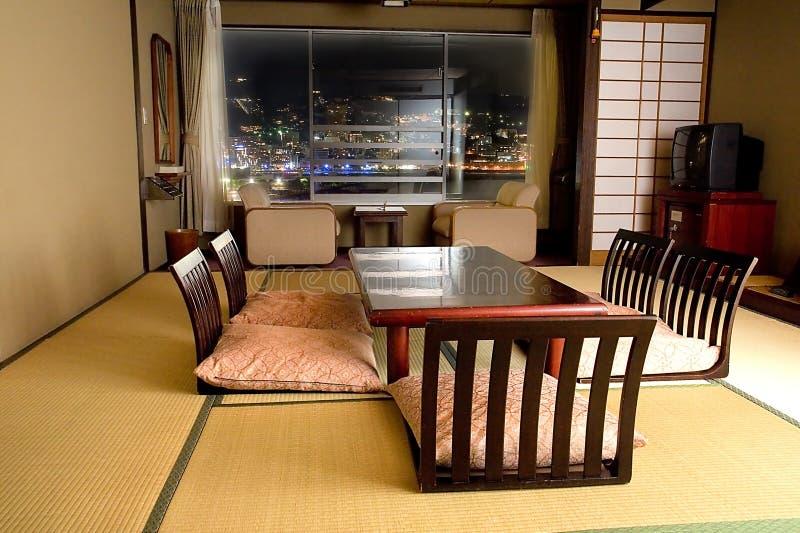 Traditioneller japanischer Raum stockfoto