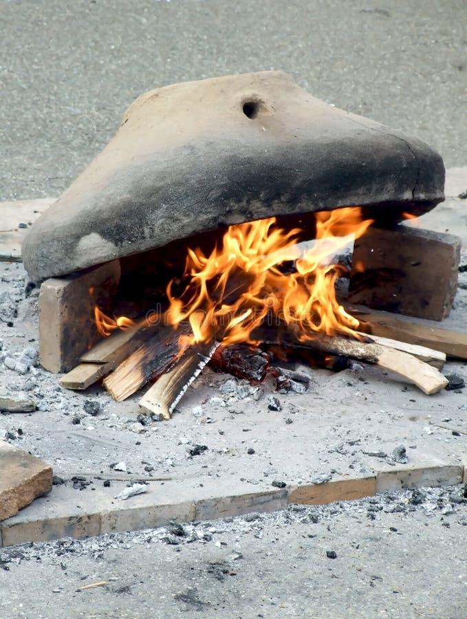 Traditioneller Ofen stockbild