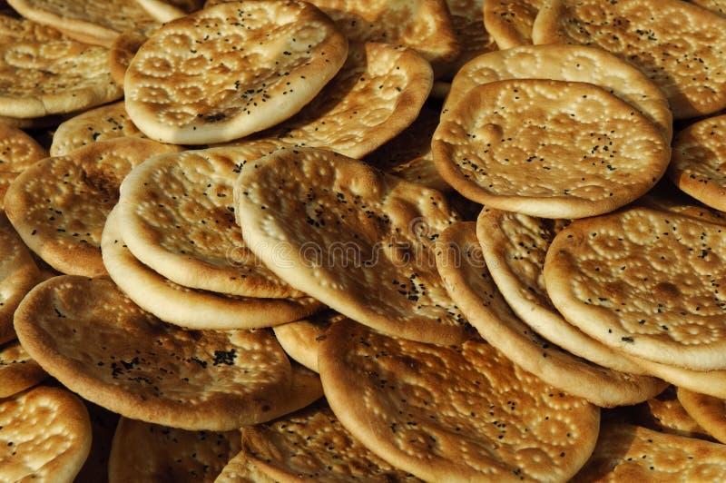 Traditionelles Brot von Xinjiang, Porzellan lizenzfreies stockbild