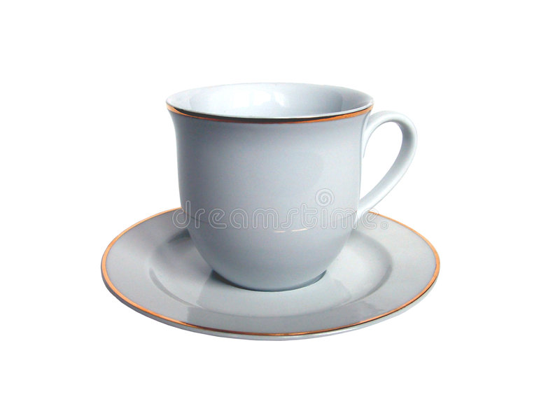 Traditionelles Caffecup Stockfoto