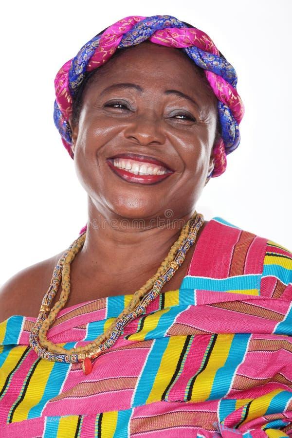 Traditionelles Ghana stockfoto