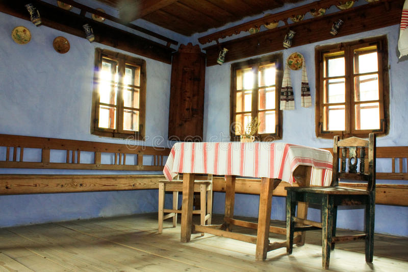 Traditionelles Haus stockfoto