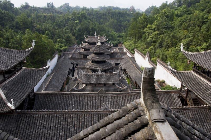 traditionelles haus in china stockfoto bild von wald