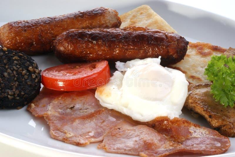 Traditionelles irisches Frühstück lizenzfreie stockfotos