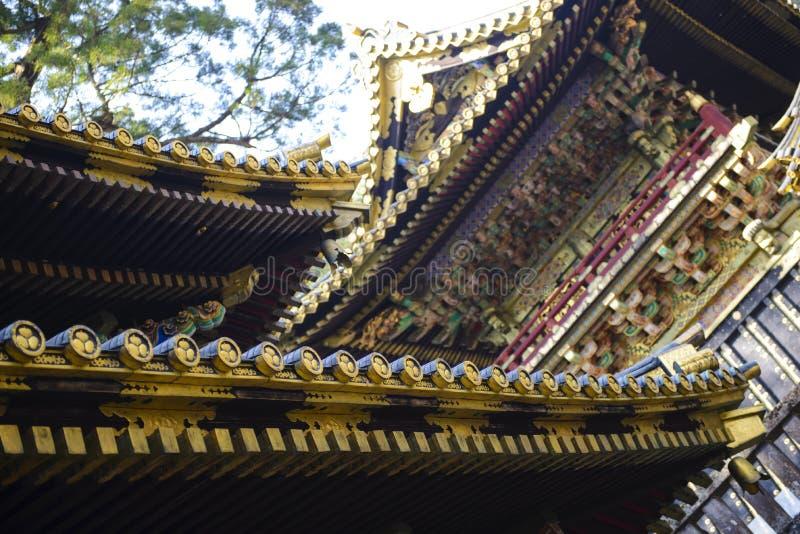 Japanisches Dach traditionelles japanisches dach stockfoto bild dekoration
