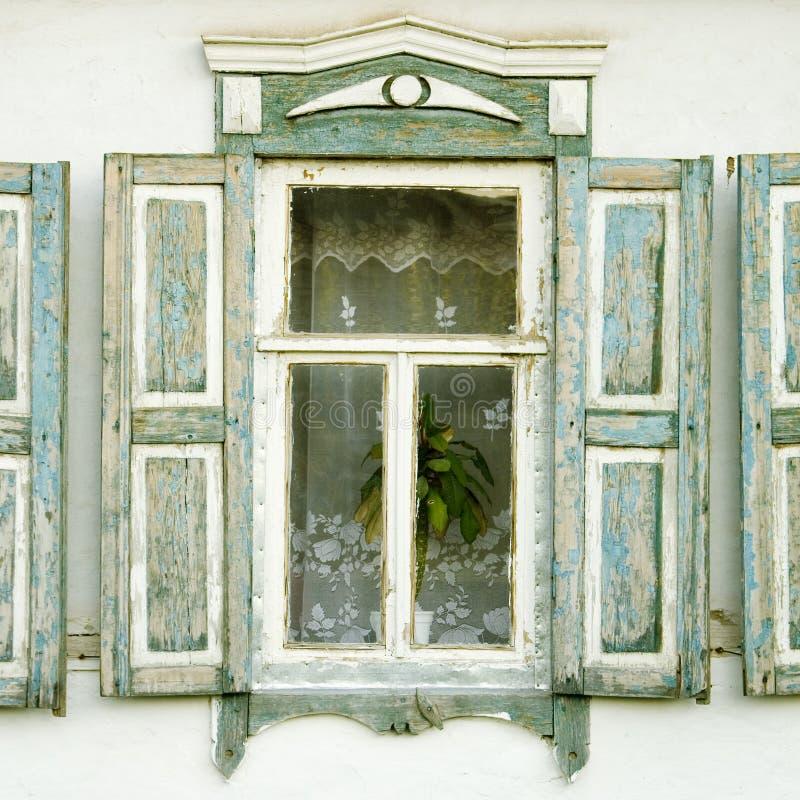traditionellt fönster för ryss fotografering för bildbyråer