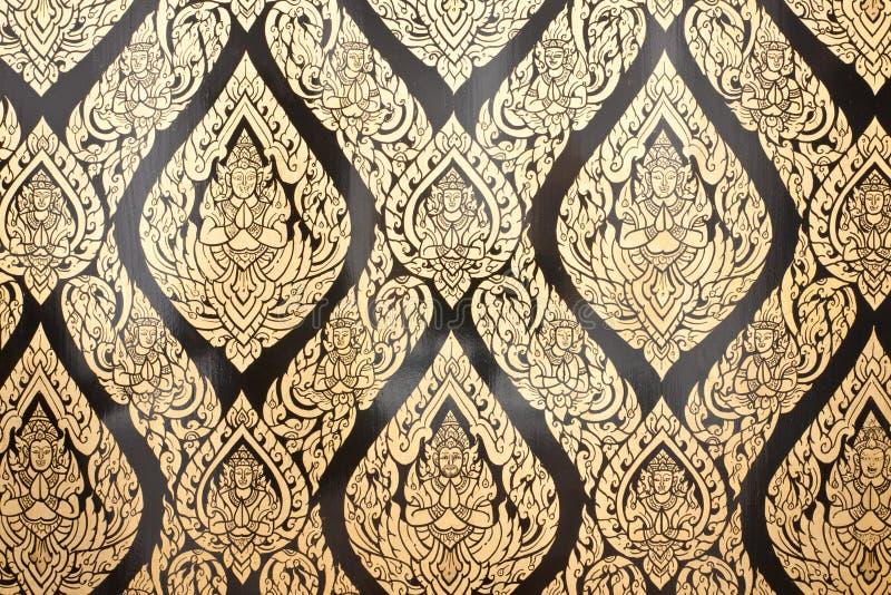 traditionellt för stil för konstlaimålning thai royaltyfri foto