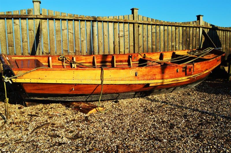 Traditionellt holländskt fartyg arkivfoton