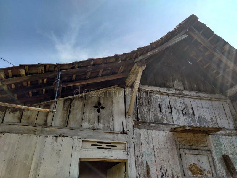 Traditionellt hus arkivfoton