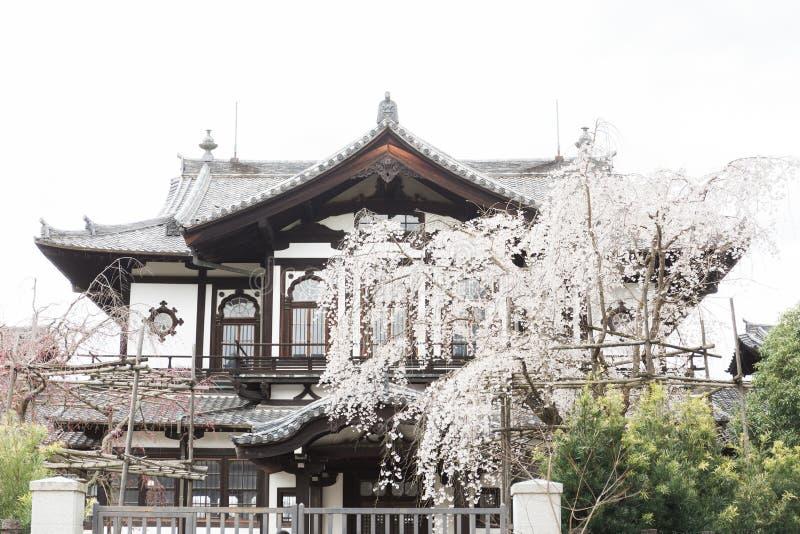 Traditionellt hus i Nara Japan arkivbilder