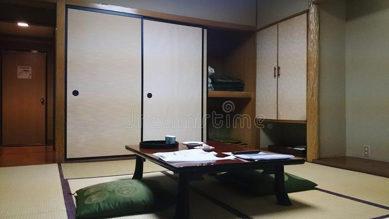 Traditionellt Japanese†‹rum arkivbild