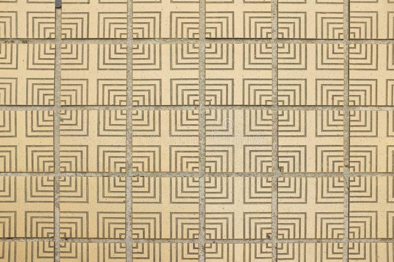 Traditionellt japanskt guld- golv texturerad tegelplatta arkivbilder