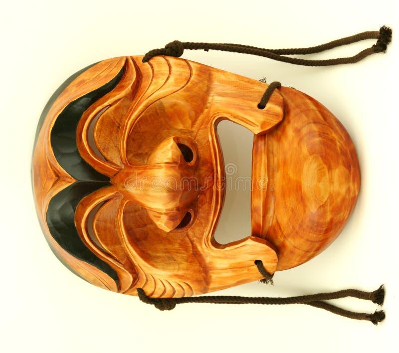 traditionellt trä för koreansk male maskering arkivbilder